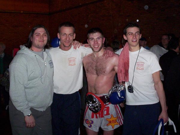 Scott Smith (weights trainer), Guy Ramsey, Iain McCulley, Tommy Young